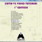 DVD_Video Catia V5 tutorial by Magnitude