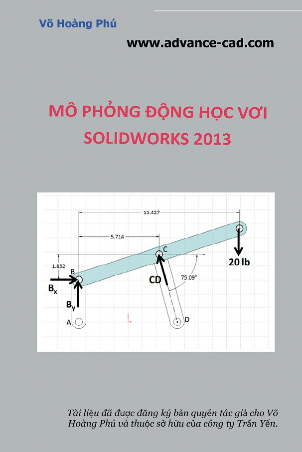 mo phong dong hoc solidworks
